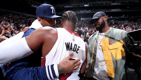香蕉船友情!詹韦发推祝贺安东尼重回NBA