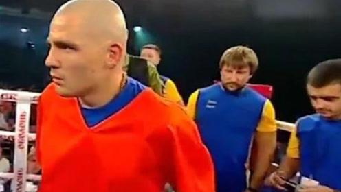 世界上最危险的拳击手,出场前必须用铁链栓住,否则场面会失控!
