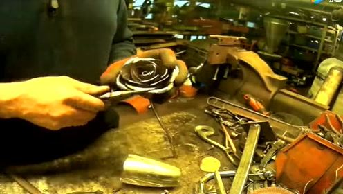 看牛人如何打造一朵铁玫瑰,我堂堂七尺男儿看完都心动了