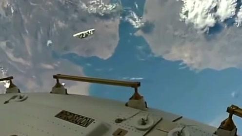 这个高度是距离地面350千米的视角
