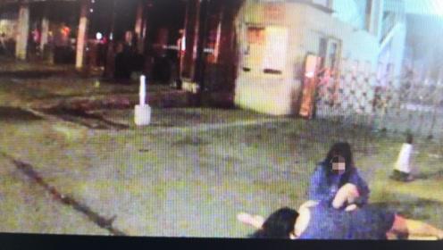 两个醉酒女打了三个巡防队员,路过市民也没躲掉