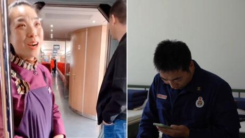 战友高铁偶遇母亲 当事消防员回应:亏欠老妈太多了