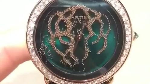 价值七位数的天价卡地亚手表,转过来的那一刻,真是太惊艳了!