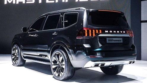 起亚大七座SUV正式到店,3.8L+四驱比宝马X5还漂亮内饰可媲美奔驰