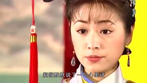 小燕子离家出走,谁记得紫薇说了啥?难怪最后和知画成闺蜜!