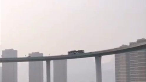 重庆非常霸气的立交桥,走过很多次还是觉得心里发毛