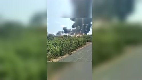 与鸟撞上 印军米格-29K教练机坠毁