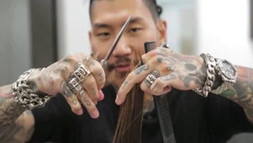 世界上最贵的理发师,理发一次20万,好莱坞明星都要排队预订