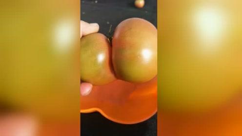 这才是真正表里如一的西红柿