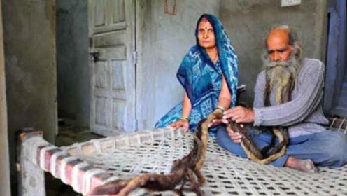 不洗澡能生儿子?印度男子连续40年不洗澡,结果连生了7个女孩