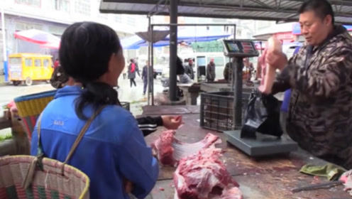 猪肉终于降价了?肉摊大哥道出最新价格,看完难以置信!