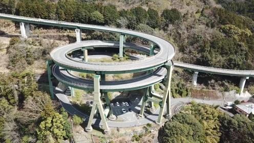 日本有条死亡公路,离地45米高,老司机在这都会乖乖放慢速度