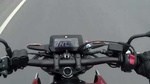 本田CB250R极速测试,这级别跑出这速度啥水平?