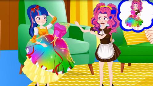 公主的漂亮衣服丢失了,却在女仆的柜子里面发现,结果更是出乎意料