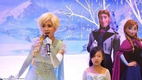 冰雪奇缘COS大赛正在进行中,来回顾一波cos过艾莎女王的明星