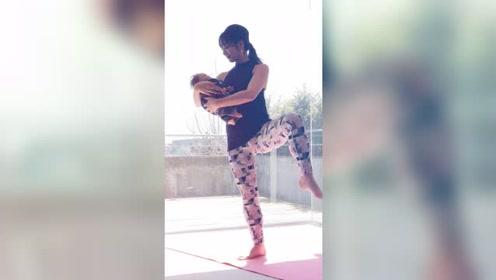 产后瑜伽:充分拉伸臀部、腹部,矫正骨盆的瑜伽
