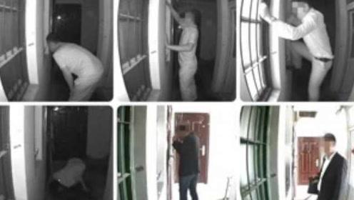 只为偷窥女邻居,杭州一老板爬窗扒门十八般武艺全上阵