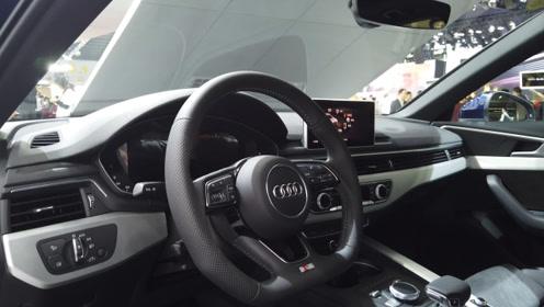 【广州车展】后备箱空间是亮点 广州车展奥迪A4旅行版体验