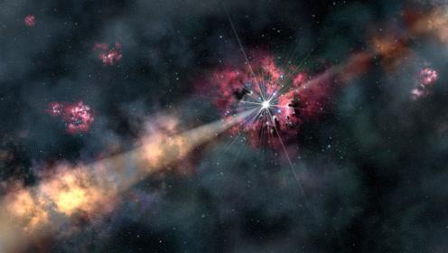 宇宙中最危险的爆炸,伽马射线暴,1秒能让上亿星球生物灭绝!