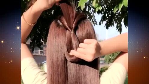 出门约会或相亲,试试这样的扎发发型,尽显温柔甜美气质,吸引力十足