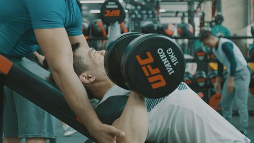 【UFC培训奖学金计划】百炼成钢:陈勇翔全力以赴投入训练