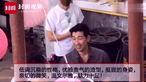 青蕉拍客丨著名演员王千源现身成都拍写真 魅力十足