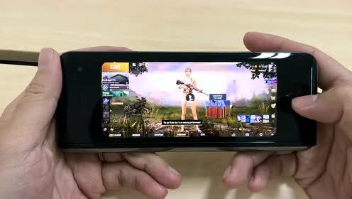 三星Galaxy Fold折叠手机玩吃鸡游戏体验