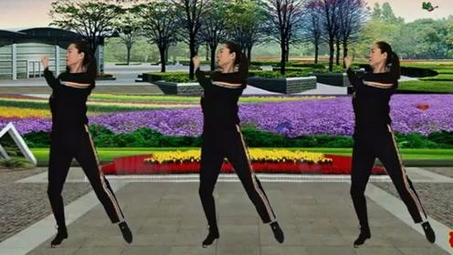 轻松快乐广场舞《其实我们都有故事》瘦身瘦腿,歌曲动感耐听