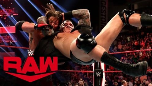 【RAW1384期】三打三OC俱乐部乱战取胜 毒蛇背后RKO偷袭AJ