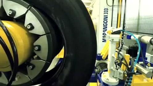 原来旧轮胎翻新只需要几分钟就搞定了!大开眼界了!