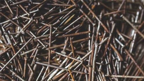 生锈的铁钉,一根也别卖!加水泡一天,解决了多数男人女人的苦恼
