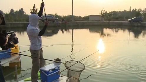 蘸饵钓法虽然诱鱼效果极佳,但并不适合长期使用