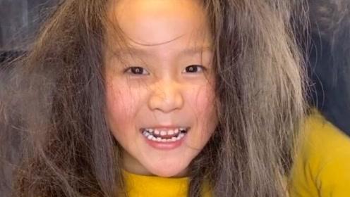 这么毛躁的头发,妈妈居然要给我剪,我就偷偷来找托尼老师
