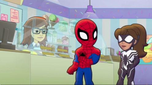 蜘蛛侠和女朋友约会,却被发电狂人破坏了兴致,蜘蛛侠岂能饶他