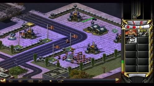 红警2:惊了!一个矿车摧毁了五角大楼 苏军战役第一关