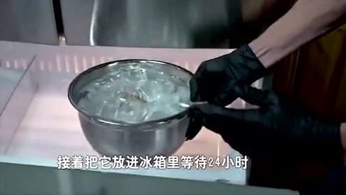 花生酱包裹木炭放进冰箱真的能变成水晶?是啥原理啊