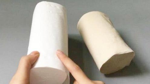 """黄色纸巾和白色纸巾的""""差距""""居然这么大,你买对了吗?抓紧看看"""