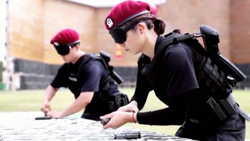 巾帼不让须眉!黑豹突击队训练视频大曝光