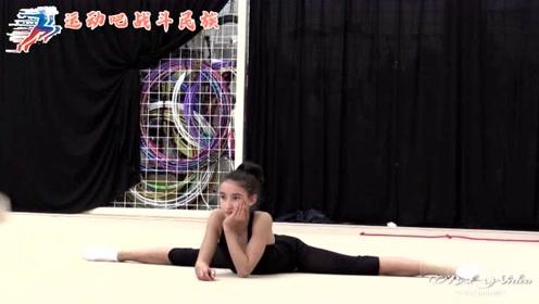 每个动作都要绷直脚尖!俄罗斯学体操的孩子太辛苦了