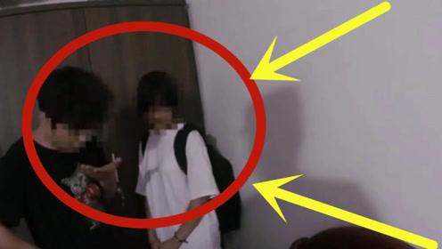 """初中生网恋""""为爱私奔"""",母亲火车站拦截后跪地哀求,监控拍下揪心画面!"""