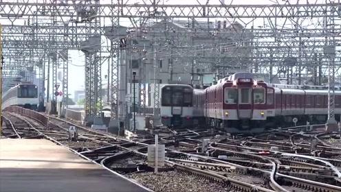 这么错综复杂的轨道还是第一次见,列车是怎样准确无误地变道的?