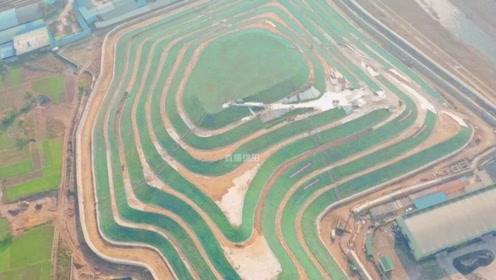 """这座""""梯田""""不一样!70万个生态袋造绿色""""梯田"""""""