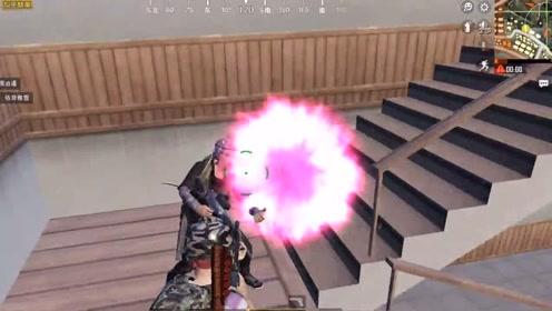 散弹枪都这么厉害,敌人几个人一起给我瞬间来个3杀