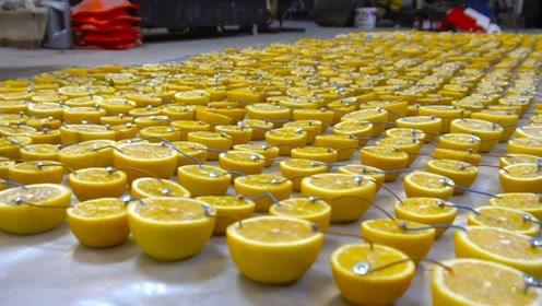 老外把1000个柠檬榨成汁,灌入电池里会怎样?网友:电量也太足了