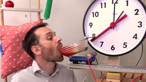 世界上最懒的男人,发明出各种喂饭神器,看完哭笑不得!