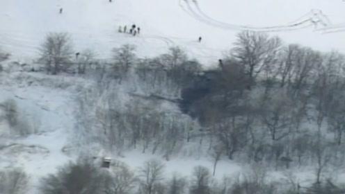 """美军载3人""""黑鹰""""直升机失联 被找到时已成残骸"""