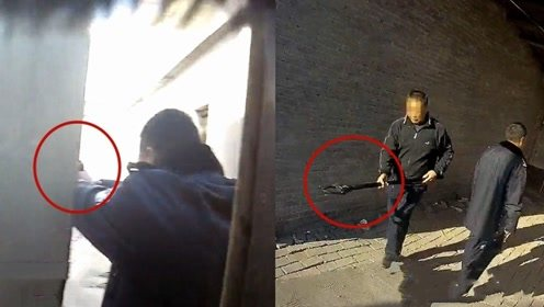 """实拍:安徽一""""疯狗""""到处咬人危及群众 民警连开数枪将其击毙"""