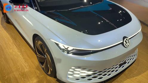 这个造型你能接受?大众ID Space Vizzion电动旅行车亮相