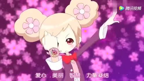 《小花仙》紫金花代表着团结的友谊