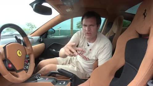 外国小哥带你走进,法拉利 599 GTO的豪华内饰